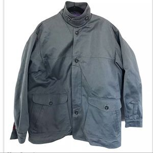 Patagonia Blueish Gray Barn Coat Poly Vest Liner L